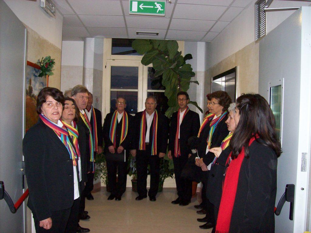 Passaggio musicale in Hospice Oblate